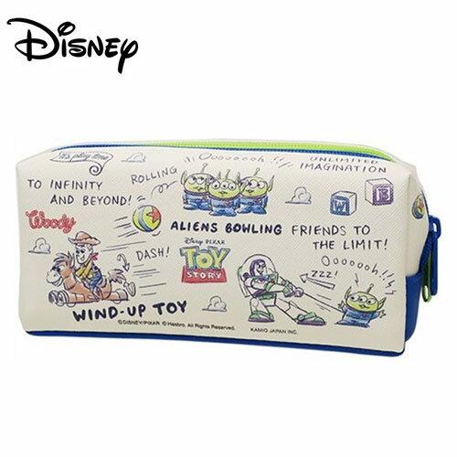 【日本正版】玩具總動員 皮革 雙層筆袋 鉛筆盒 筆袋 迪士尼 Disney - 045817