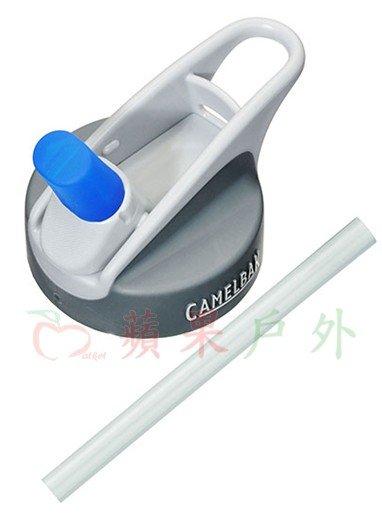 【【蘋果戶外】】美國 Camelbak 兒童彈跳式吸管水瓶專用水壺蓋+吸管 小孩水壺 單車水壺