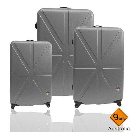 預購1021陸續出貨✈Gate9英倫系列ABS霧面輕硬殼三件組旅行箱 / 行李箱 2