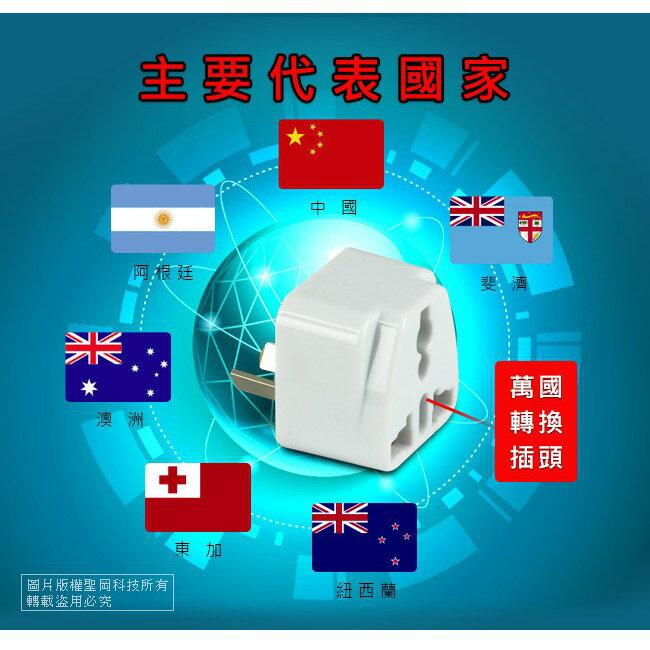 Dr.AV聖岡 UTA-74 中紐澳 八字型 出國專用萬用 轉換插頭