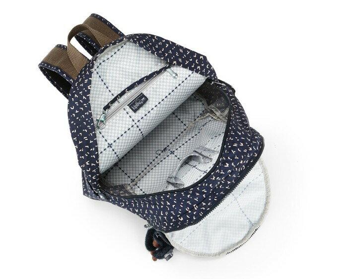 OUTLET代購【KIPLING】時尚經典Seoul旅行袋 斜揹包 肩揹包 後揹包 點點藍 2