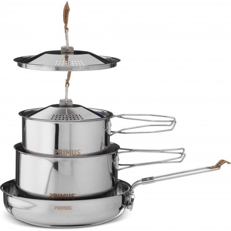 ├登山樂┤瑞典 PRIMUS CAMPFIRE 不鏽鋼鍋具組 小#738002