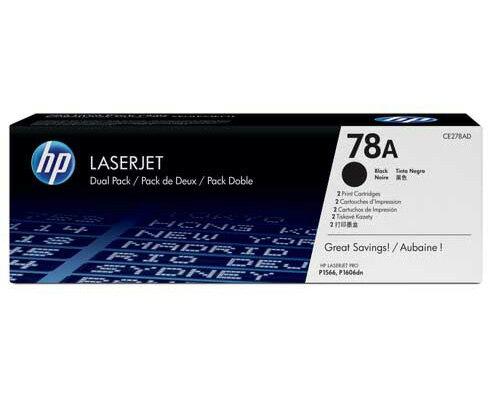 【HP 碳粉匣】HP CE278A 原廠黑色碳粉匣