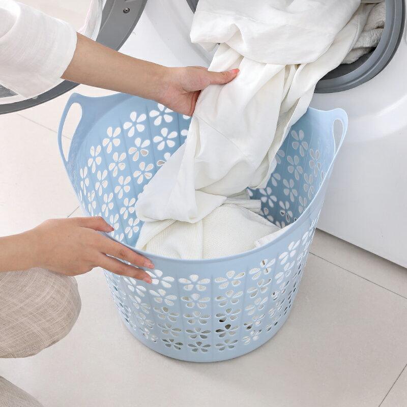 髒衣簍 大號塑料臟衣籃衣簍浴室洗衣籃家用玩具衣物收納籃臟衣服收納筐 HH5349
