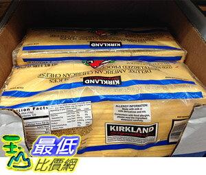 [ 需低溫宅配] COSCO SIGNATURE AMERICAN CHEESE SLICES 特級美國乾酪片 2.27KG_C48682