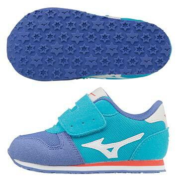 K1GD173201(水藍X白)TINY RUNNER  5 幼兒鞋 A【美津濃MIZUNO】