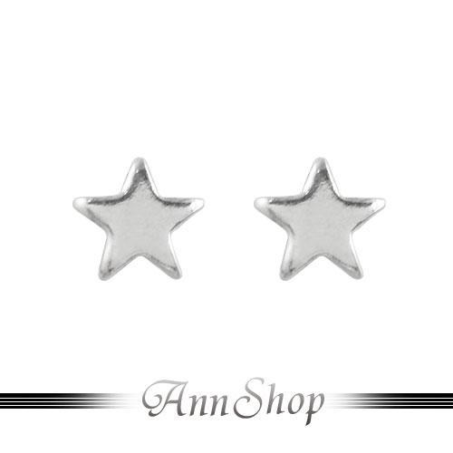 AnnShop~925純銀‧五角星星耳飾~銀飾飾品  情人 e9828