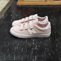 New Balance 美國慢跑鞋/跑步鞋推薦new balance nb 210 AM210VPK 魔鬼氈 粉色 粉紅色 淡粉色 乾燥玫瑰 帆布 板鞋