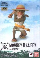 航海王週邊商品推薦日版金證 Figuarts Zero Artist Special 魯夫 as 猴子 動物 海賊王 航海王