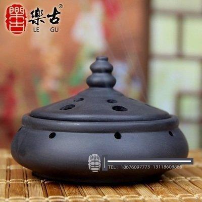 新款大口徑蒸蒸日上籠陶瓷紫砂檀盤塔線香爐