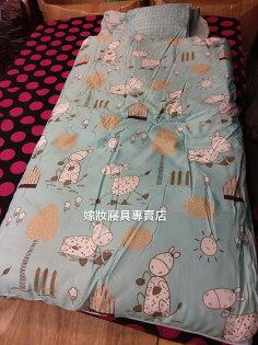 【嫁妝寢具】TENCEL天絲.歡樂農場.冬夏鋪棉兩用兒童睡袋120x150公分附原廠收納提袋
