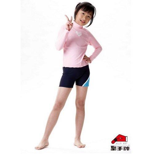 ☆小薇的店☆MIT聖手品牌【夏日粉色長袖款】 兒童水母衣特價590元 NO.A80001粉(12-18)
