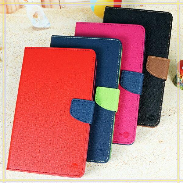 【雙色】三星 Samsung Galaxy Tab E 8.0 T377/SM-T3777 平板經典皮套/書本翻頁式側掀保護套/側開插卡手機套/斜立支架保護殼-ZX