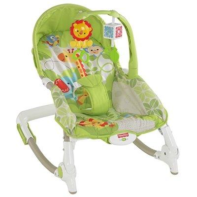 費雪熱帶雨林好朋友可攜式兩用安撫躺椅