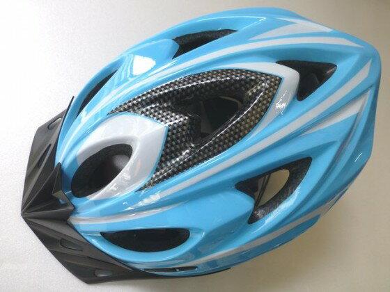 鉅盛 自行車安全帽 可調式(水藍色)《意生自行車》