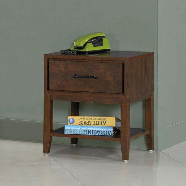 優世代居家生活館:床頭櫃床邊櫃二抽櫃收納櫃抽屜櫃置物櫃櫥櫃《YoStyle》力爾床頭櫃