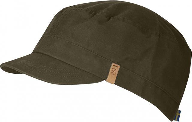 Fjallraven 瑞典北極狐 77279 Sarek Trekking Cap G-1000 復古鴨舌帽/獵裝帽/軍裝遮陽帽 633深橄欖