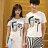 T恤 情侶裝 客製化 MIT台灣製純棉短T 班服◆快速出貨◆獨家配對情侶裝.臉【Y0311】可單買.艾咪E舖 4