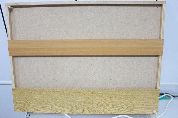 4開木製畫板 木質寫生畫板 / 一個入 { 定180 }  鐵人立體畫板 畫圖板 60cm x 45cm 2