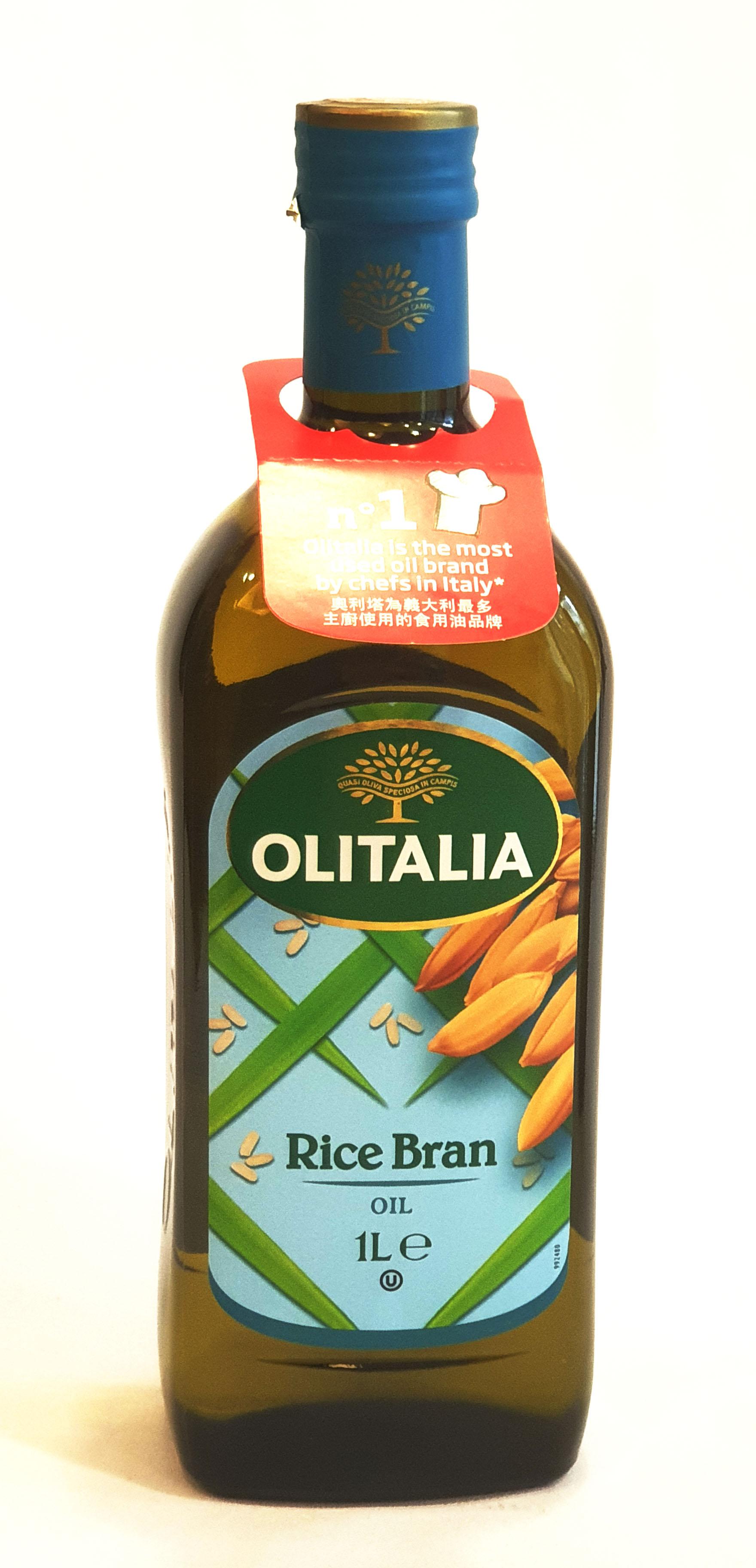 奧莉塔 玄米油 1公升/瓶 (義大利原裝進口)