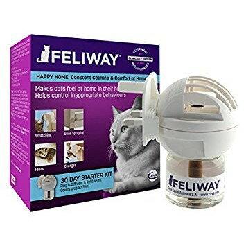 法國FELIWAY貓咪費洛蒙 插電組(48ML,可連續使用1個月)