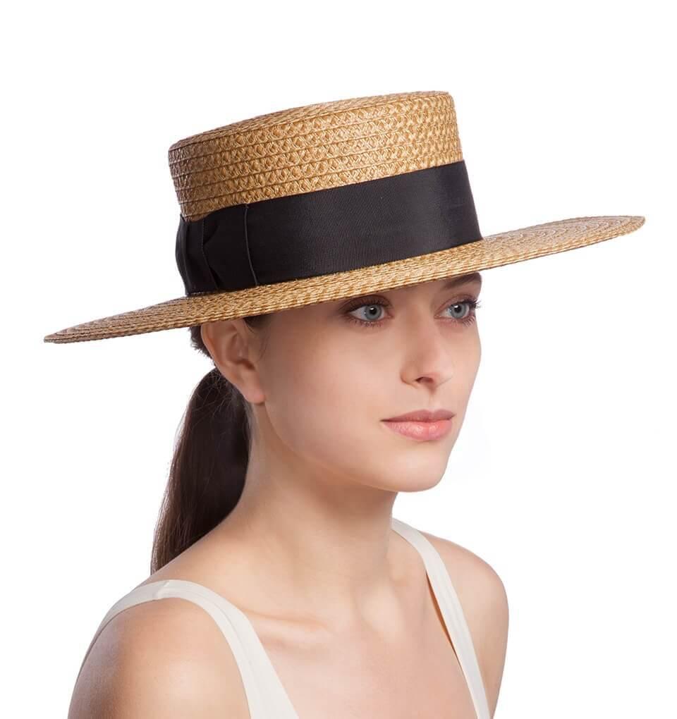 fbfc024b96616 Eric Javits Luxury Fashion Designer Women s Headwear Hat - Gondolier 0