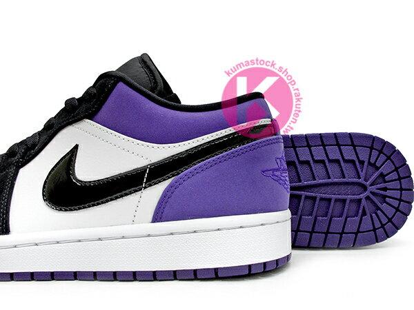 2019 經典重現 復刻鞋款 NIKE AIR JORDAN 1 LOW COURT PURPLE 低筒 白黑紫 黑紫腳趾 AJ (553558-125) ! 3