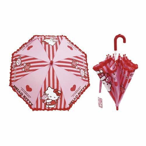 ★衛立兒生活館★Hello Kitty 小童傘(雨傘/兒童直傘)446-65330