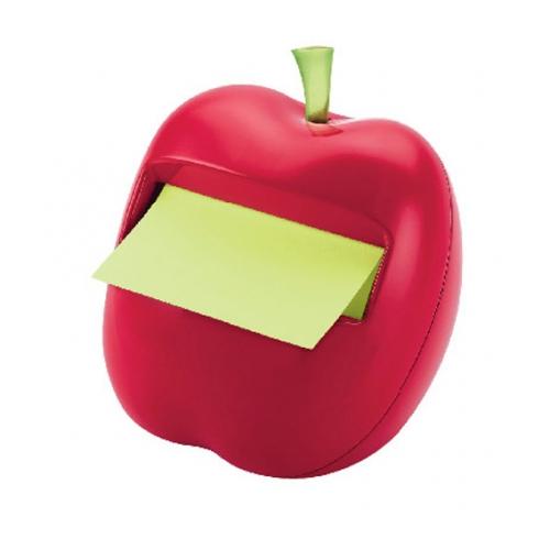 [絕版品] 3M 便利貼 APL-330 [ 蘋果] 造型抽取式便條台 ( 內附3x3便條紙50張 )