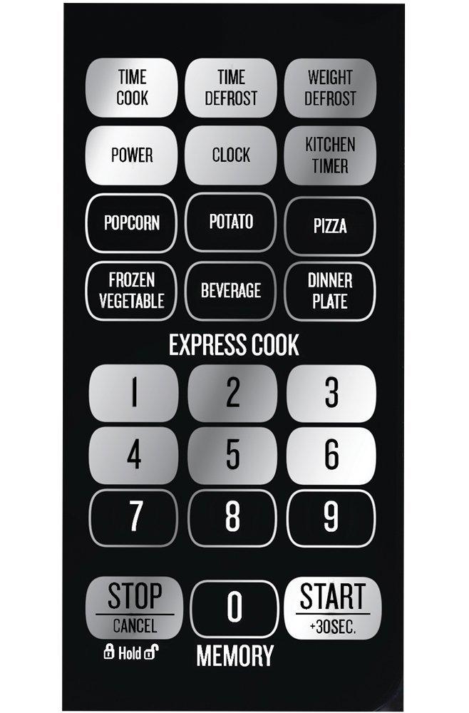 Bella Microwave Oven 700 Watt Compact Digital 0.7 Cubic Foot 2