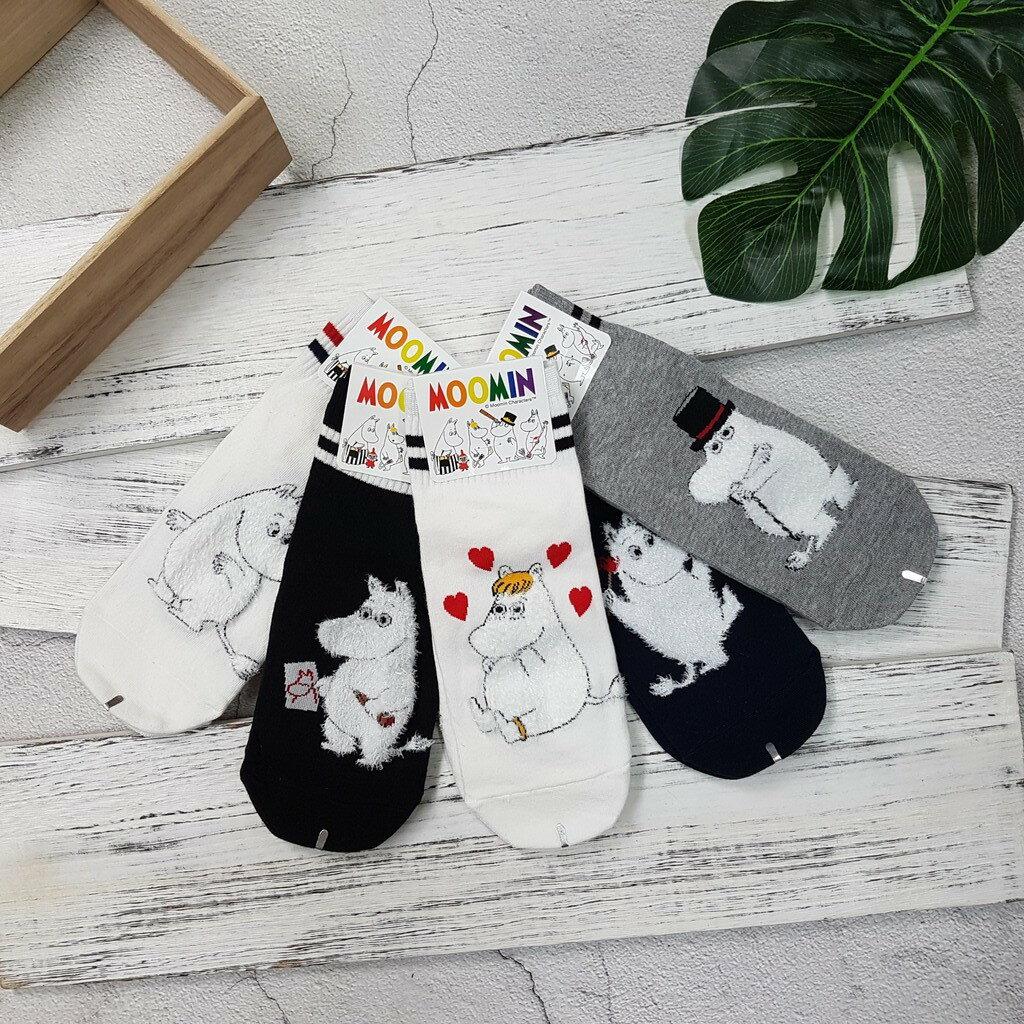 【現貨⭐嚕嚕米熱賣】韓國襪子 高質感 嚕嚕米系列棒球短襪 超夯 正韓 中筒 3