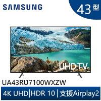 Samsung LED電視推薦到SAMSUNG三星 UA43RU7100WXZW 43吋 4K UHD 液晶電視 RU7100系列 電視就在3C 大碗公推薦Samsung LED電視
