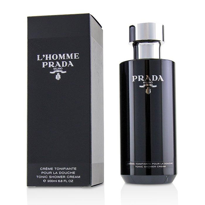 Prada 普拉達 蔚藍紳士沐浴乳 L''''Homme Tonic Shower Cream 200ml/6.8oz