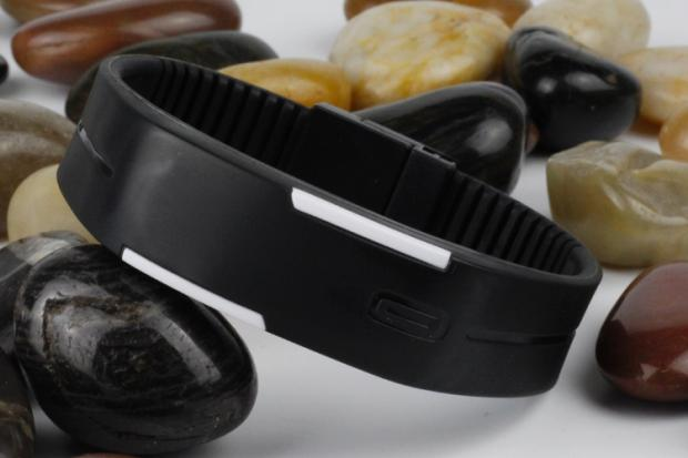 韓版手環手鐲男女表運動手錶電子表LED觸控夜光韓國七天預購+現貨