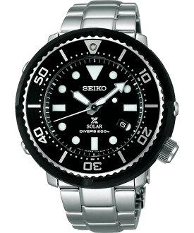 Seiko Prospex V147-0AX0D(SBDN021J) 鮪魚罐頭太陽能限量腕錶/黑面46mm