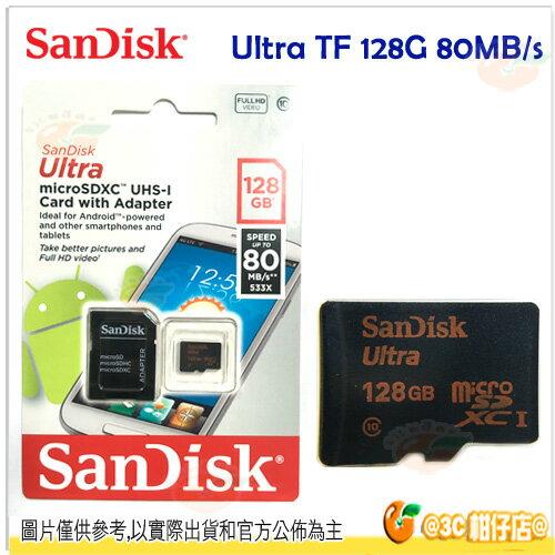 SanDisk Ultra TF 128G 128GB 533X micro SDXC