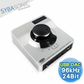 【SYBASONIC 電腦USB音源轉換器—音樂中控台(UAU11A)】可作音響前級 RAC/光纖/同軸輸出 可接擴大機/喇叭/MIC/大耳罩式耳機等【風雅小舖】