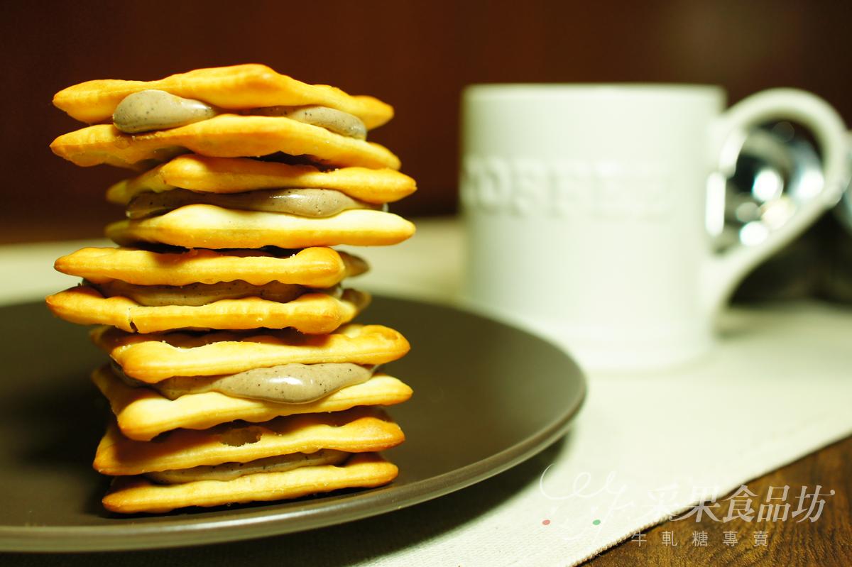 【采果食品坊】咖啡牛軋餅 16入 / 袋裝 1