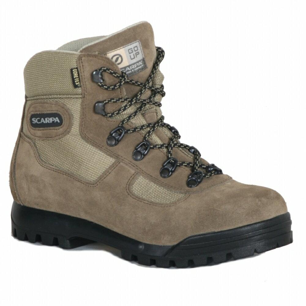 贈Smartwool襪├登山樂┤義大利Scarpa LITE TREK GORE-TEX 60023高筒登山鞋 棕 #SP60023