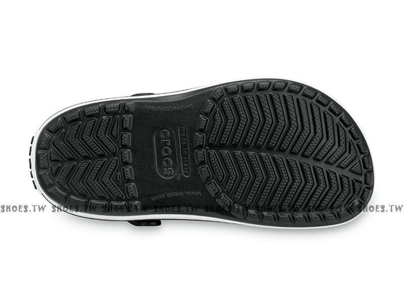 Shoestw【11016-001】CROCS 卡駱馳 鱷魚 輕便鞋 拖鞋 涼鞋 黑白 中性款 男女尺寸都有 1