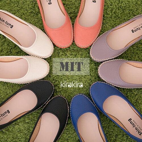 包鞋 SALE 精緻縫線簡約百搭平底包鞋 偏小~