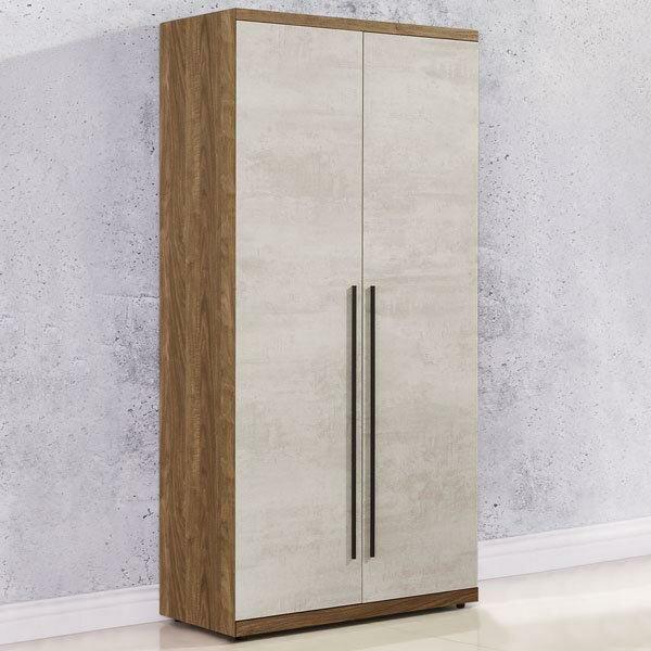 衣櫃 衣櫥 工業風 收納櫃 衣物收納 《Yostyle》格林2.7尺雙吊衣櫃