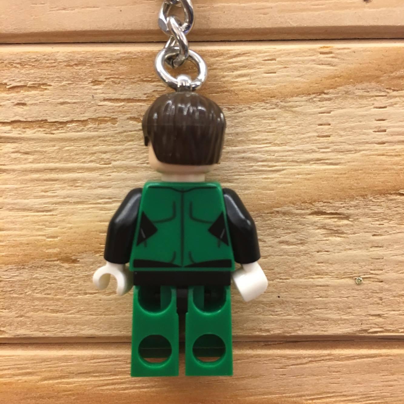 BEETLE LEGO SUPER HEROES GREEN LANTERN 綠燈俠 樂高 積木 鑰匙圈 玩具 2