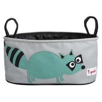 【原廠公司貨】加拿大3 Sprouts 推車置物袋~小浣熊