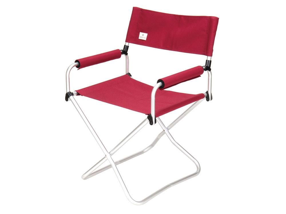 [ Snow Peak ] 折疊椅-寬版紅 / FD Chair 露營椅 / LV-077RD