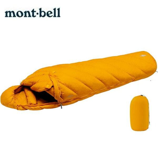 Mont-Bell羽絨睡袋800FP登山睡袋輕量登山羽絨睡袋AlpineDownHugger800#21121301