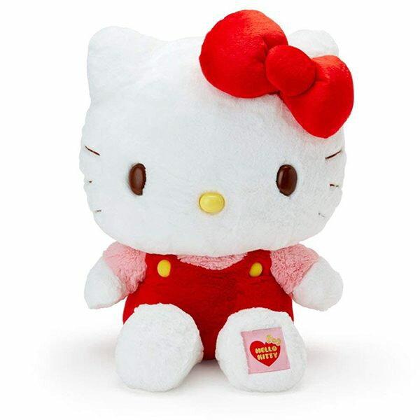 凱蒂貓 絨毛娃娃 大抱枕娃娃 3L 特大 三麗鷗 Kitty 日本正版 該該貝比日本精品 ☆