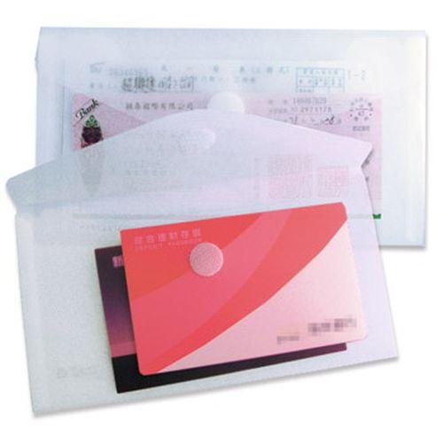 超聯捷 HFPWP 支票型 黏扣式 文件袋 (橫式) G905