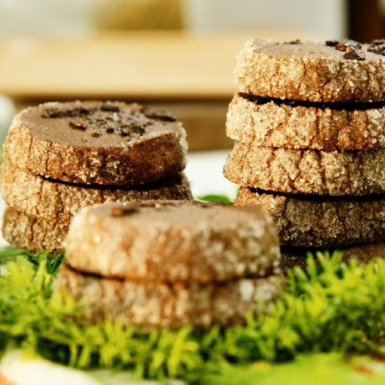 慢爐 可可鹹酥餅/法國頂級無糖100%可可粉/海鹽/鑽石餅乾/香濃酥脆