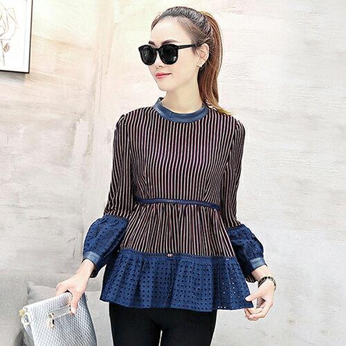 時尚寬鬆娃娃衫顯瘦T恤打底衫(4色S~2XL) 【OREAD】 2